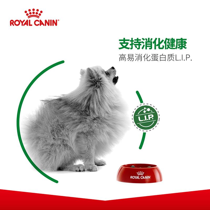 皇家狗粮 居家小型犬老年犬粮 SPR24/1.5KG*2 泰迪博美比熊狗粮优惠券