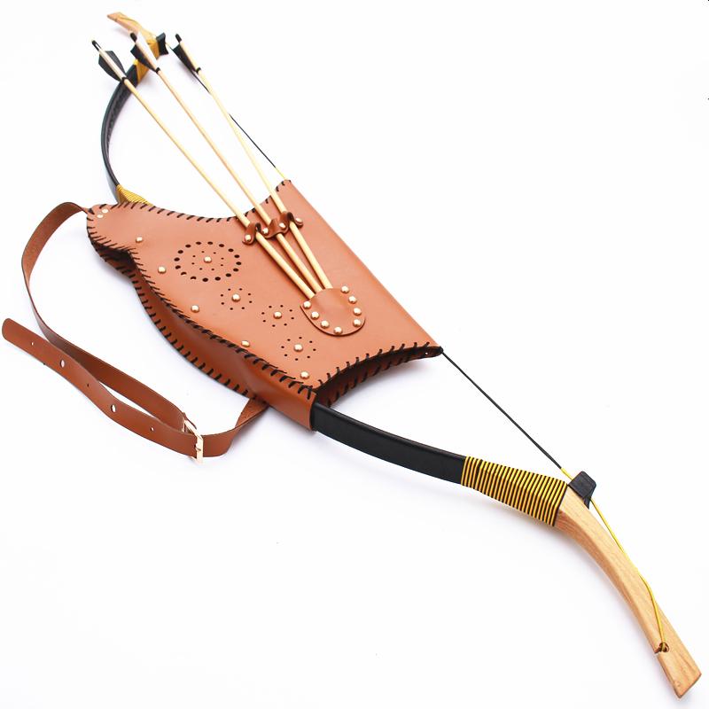 【包邮】飞云居清朝弓 80磅 超长梢 满族弓 传统射箭运动用弓箭