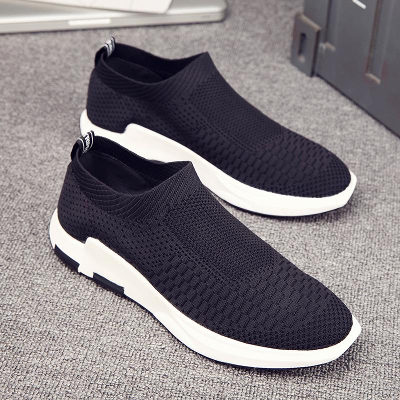 男鞋夏季潮鞋2019新款帆布鞋子男青年休闲鞋韩版潮流学生运动鞋男