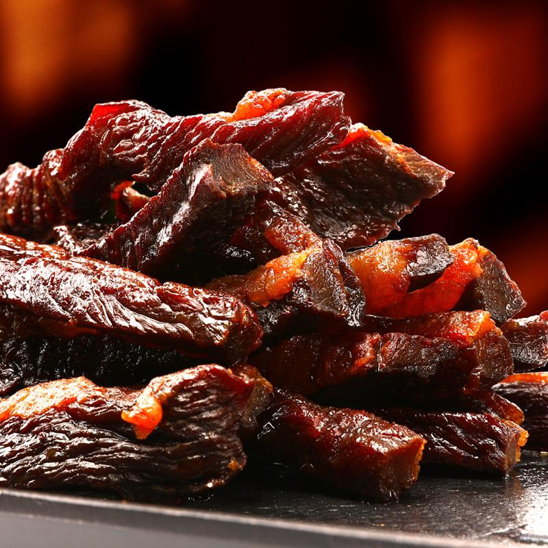 钱毅牛肉干烧烤肥牛肉干 传统手撕风干牛肉干 零食肥瘦牛肉干超香