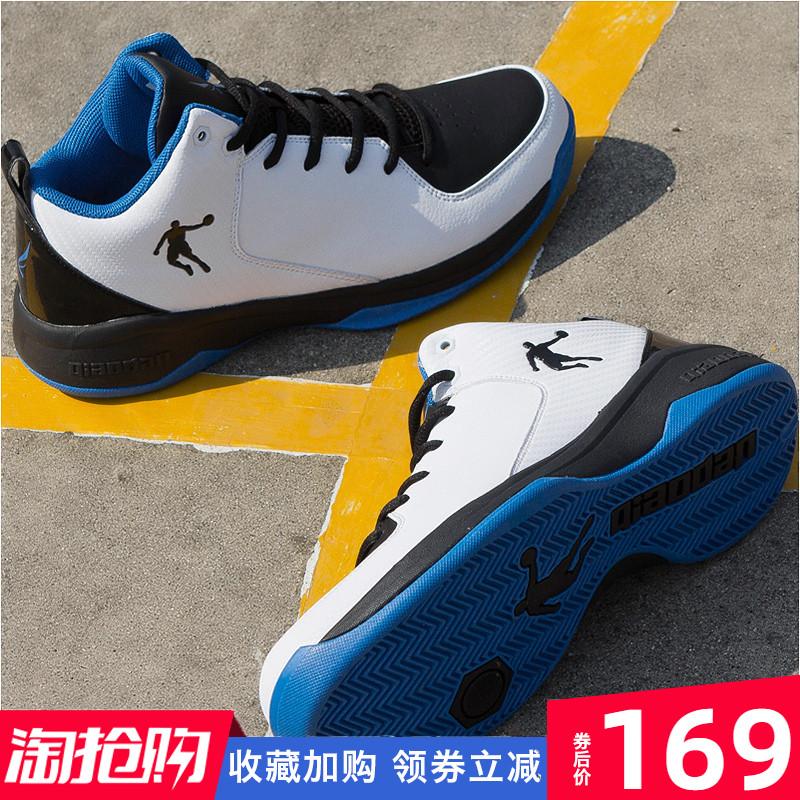 喬丹男鞋籃球鞋男2019夏季高幫球鞋減震中低幫aj戰靴透氣運動鞋子