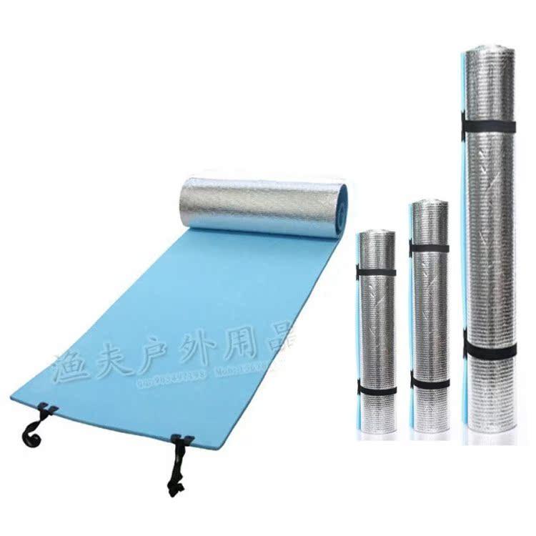 戶外防潮墊單人加寬加厚超輕 露營野餐墊地墊 EVA發泡防水鋁箔膜