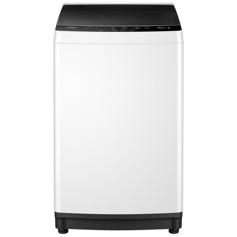 专利桶清洁技术 美的 8公斤 全自动波轮洗衣机