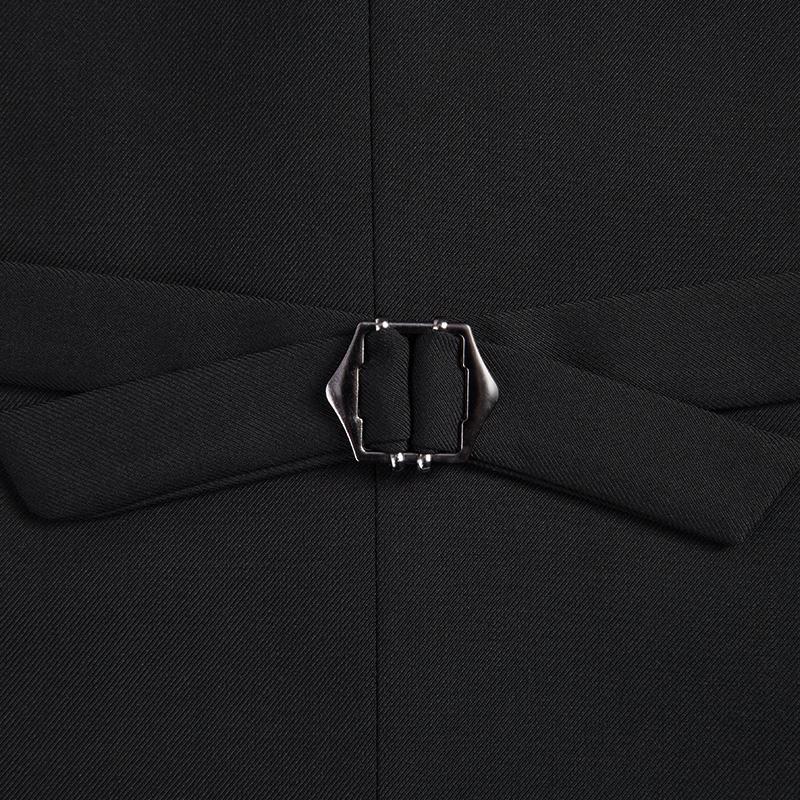 欧比森夏装新款男士西装马甲背心韩版修身型商务休闲职业西服马夹