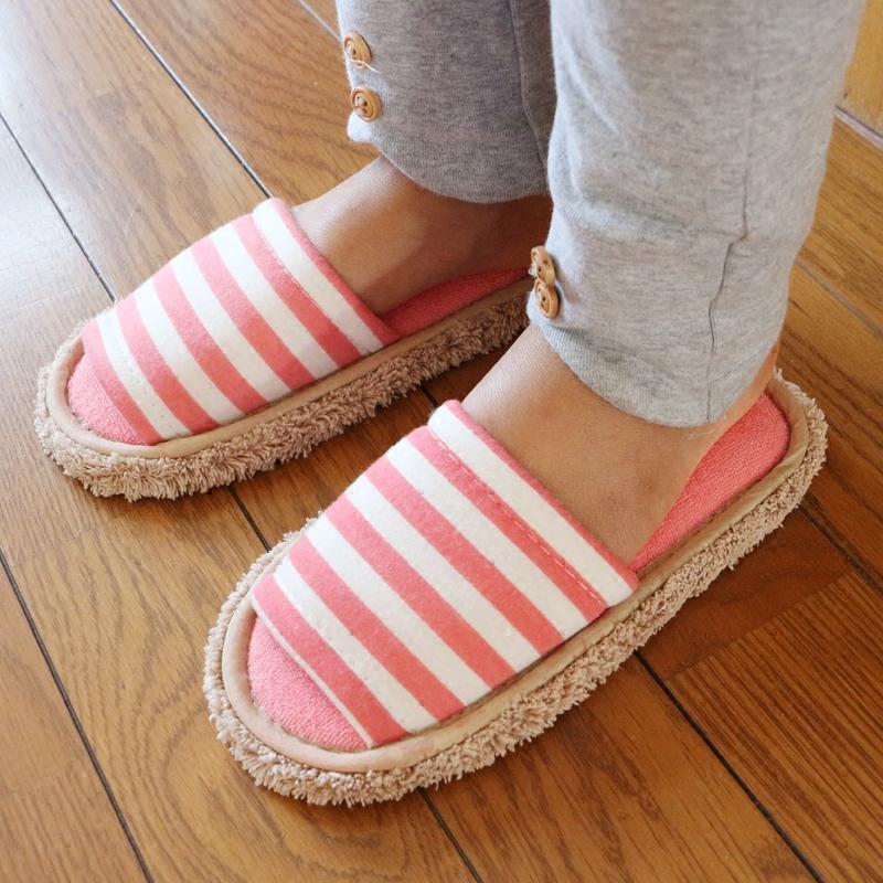 家至宝儿童静音拖鞋小孩拖鞋出口日本家居擦地拖鞋无噪音地板拖鞋