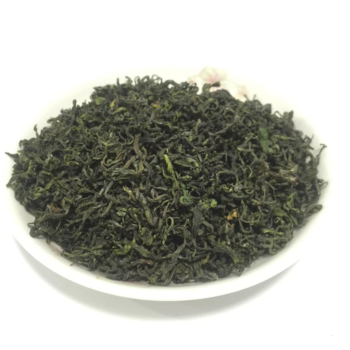 新茶叶春茶青岛特产浓香型特级袋装农家日照 2018 散装 500g 崂山绿茶
