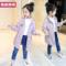 女童外套春秋2018新款韩版秋装儿童装休闲女孩洋气公主中长款风衣