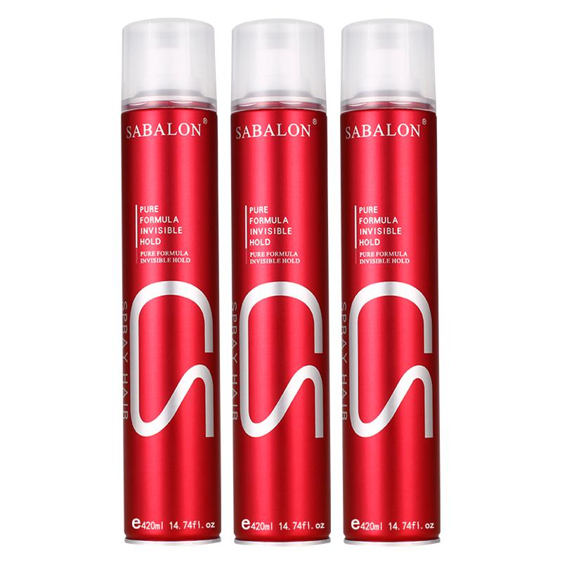 莎贝龙发胶蓬松持久定型啫喱水干胶头发造型喷雾女士男士发泥发蜡