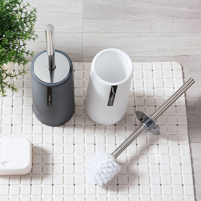 素色马桶刷套装卫生间清洁刷 长柄厕所刷洗厕所刷子坐便器洁厕刷