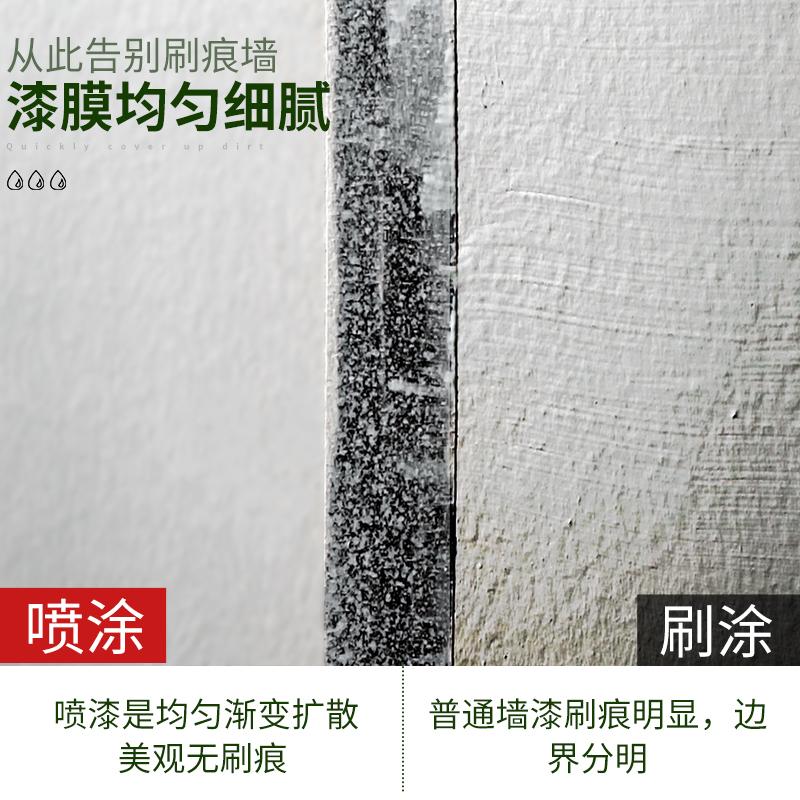 室內內墻家用裂縫補墻膏翻新 自噴漆 防水墻面修復補墻漆噴霧白色