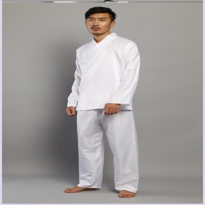 Chinese wind pajamas antiquity male Chinese costume martial arts costume underwear sleepwear oblique collar men and women lining the Han 5