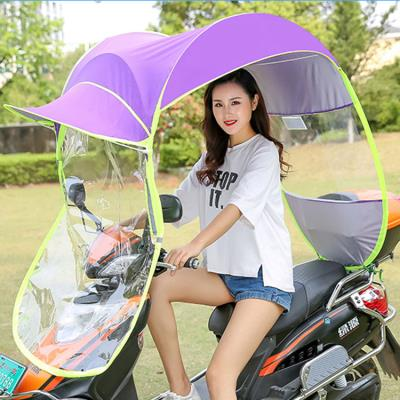 Electric motorcycle canopy fully enclosed universal bicycle small battery two-wheeler tram new carport canopy