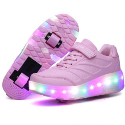 Adult Heelys wheeled invisible boys and girls shoes children and adolescents wheel roller skate skates students.