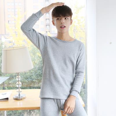 。2019年新款套装加绒保暖内衣男士薄款秋衣秋裤一套秋季青年内穿