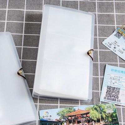 车票册子粮票收藏册邮票会员卡机票藏本集邮册保存票根存放。 mini 3