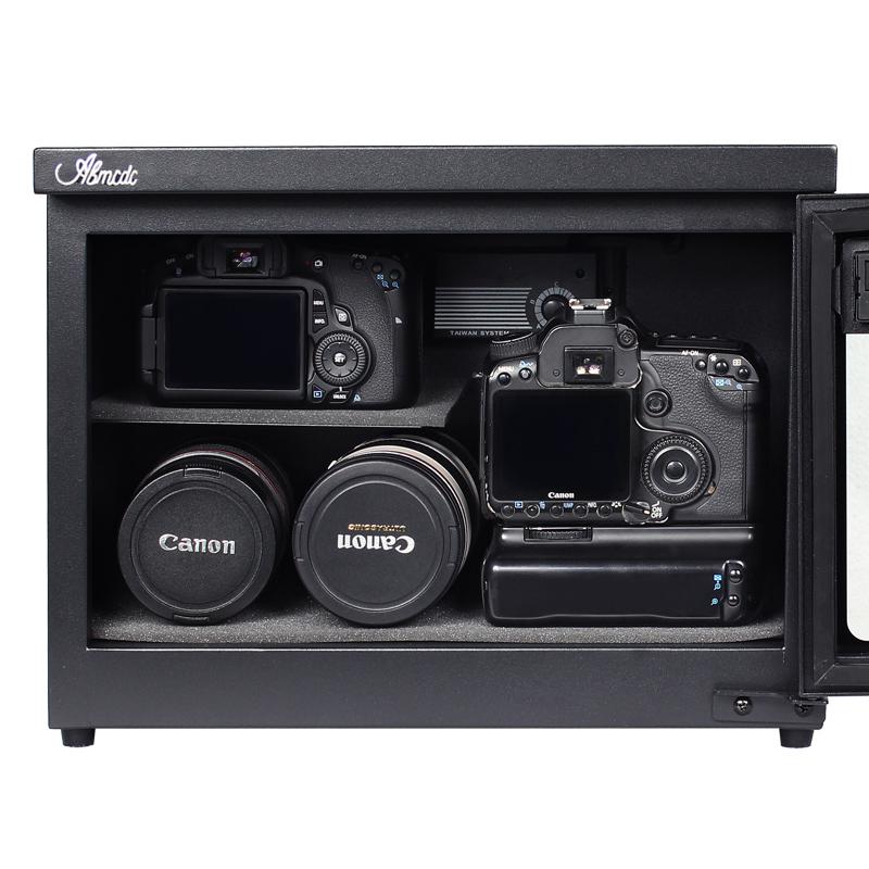 台湾爱保电子防潮箱全自动25L单反相机镜头邮票字画茶叶干燥柜