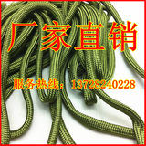 Army green nylon filament sewing thread woven mesh sleeve 2MM soft wire braided sleeve