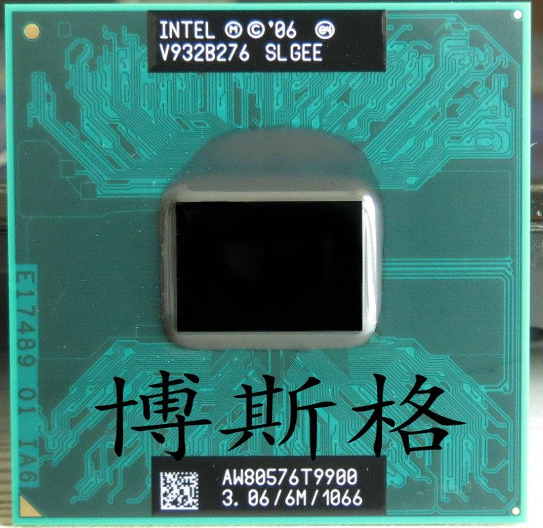 Intel T9900 筆記本CPU PGA 正式版 3.06GH 6M/1066秒殺T9800