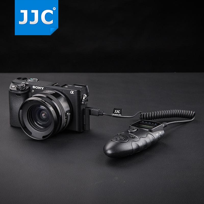 JJC 索尼微单A7M3/R3 A7M2 A6400 A6300定时快门线A7II无线遥控器