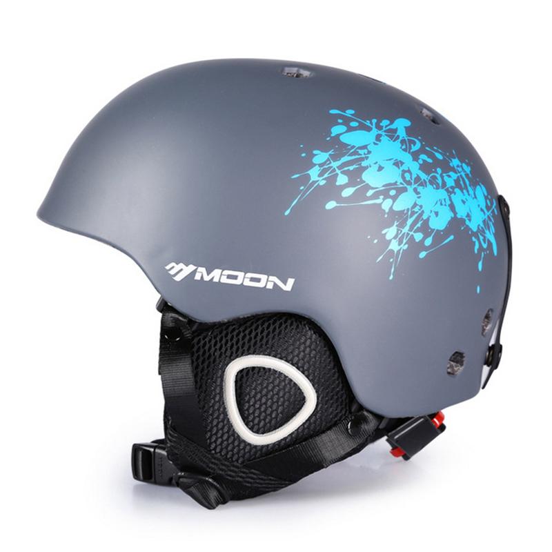 滑雪头盔男女成人单板双板雪盔儿童冬季保暖帽子极限户外运动装备