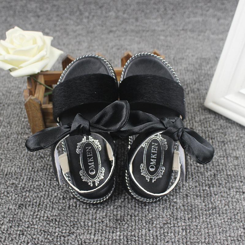 女童凉鞋2019新款韩版1-6岁夏季宝宝鞋2儿童鞋3软底4露趾公主鞋5