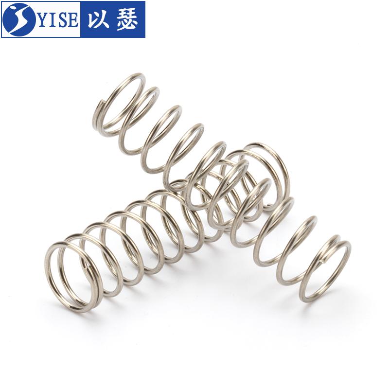 304不锈钢小弹簧压缩弹簧回位压簧Y型减震弹簧钢弹簧支持定制定做