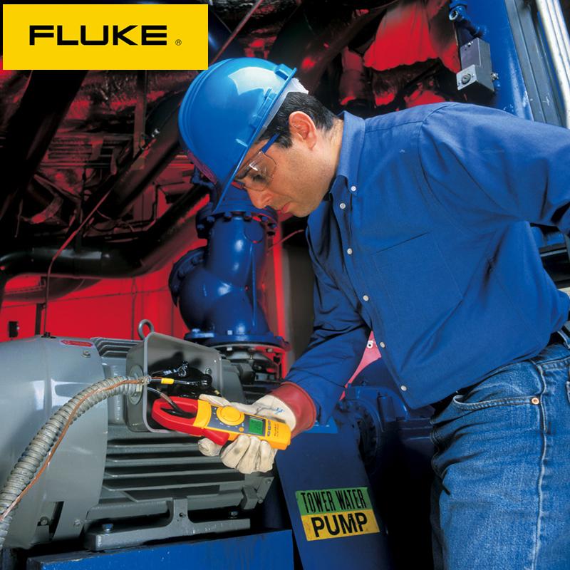 FLUKE福禄克钳形万用表F312 317 319数字高精度交直流钳形电流表