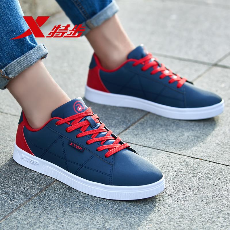 特步男鞋板鞋夏季2019新款学生韩版潮流休闲鞋运动鞋男滑板鞋子