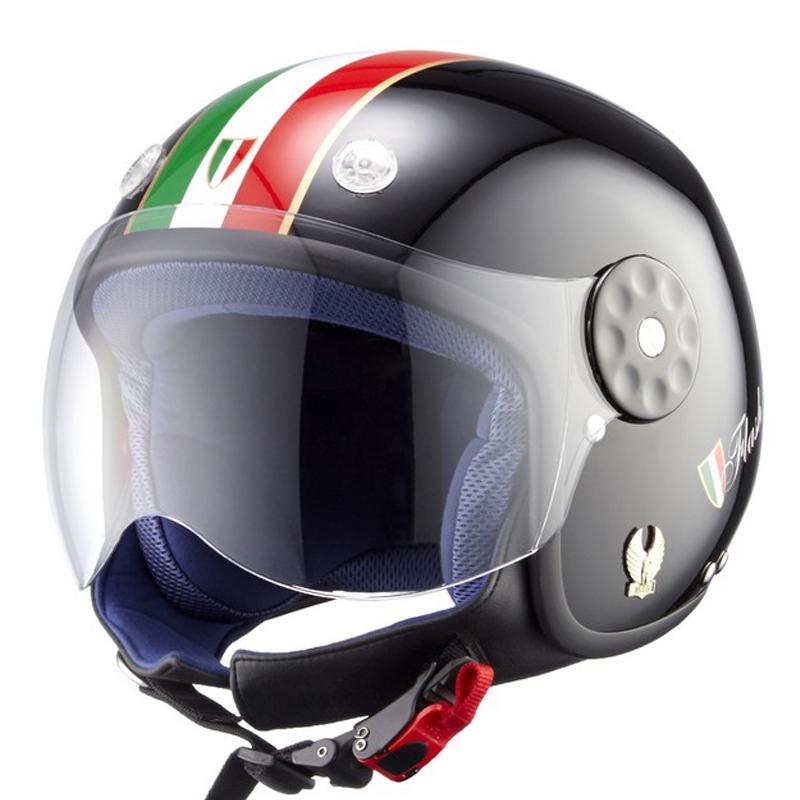 德国NERVE摩托车电动车儿童头盔女鲨鱼夏季儿童安全帽子男孩半盔