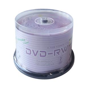 可擦写光盘DVD-RW可反复多次重复刻录空白8CM刻录盘三寸dvd可重写光盘光碟片