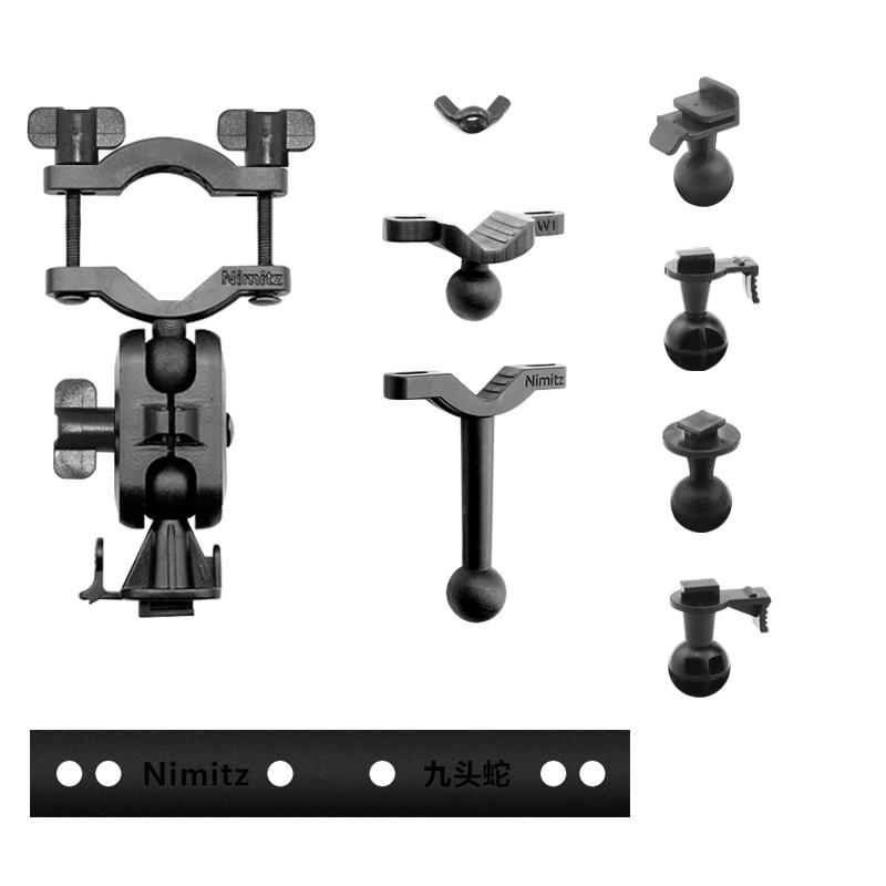九头蛇DOD行车记录仪适用后视镜记录仪支架吸盘支架车载导航支架