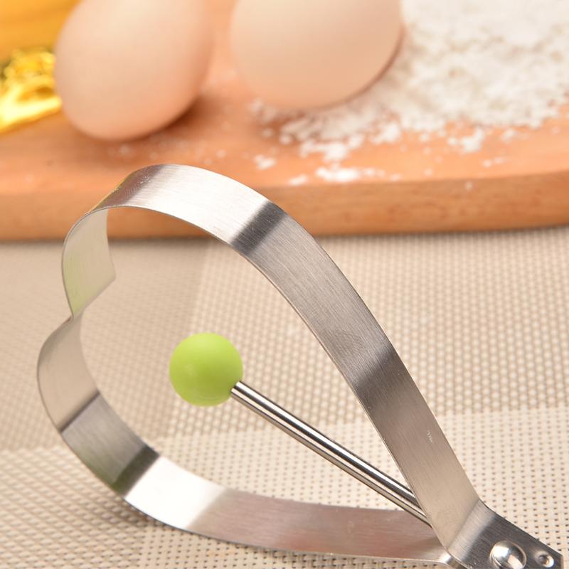 加厚不锈钢煎蛋器套装创意爱心鸡蛋圈磨具不粘煎蛋模具荷包蛋模型