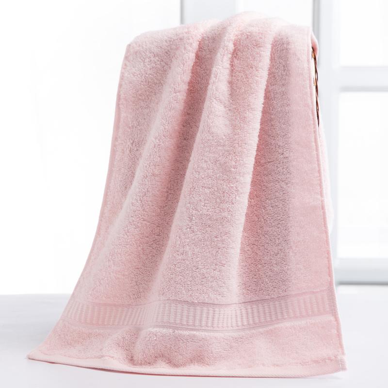 洁丽雅毛巾 素色纯棉绸缎面巾 柔软亲肤女士成人情侣洗脸巾一等品