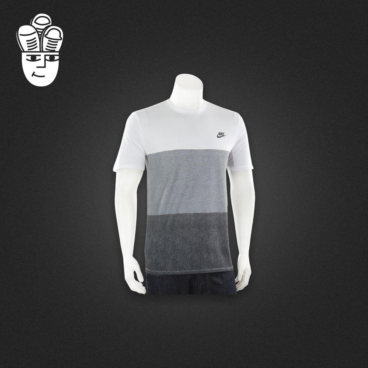 Nike Tonal Colorblock T-Shirt 耐克 男子 時尚運動休閒 T恤衫