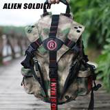 Special forces multi-function chicken camouflage travel backpack military fan tactical outdoor bag men and women schoolbag nylon backpack
