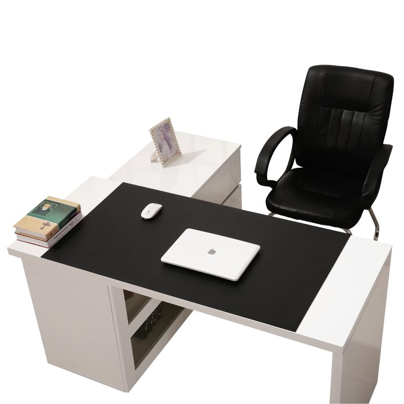 皮質桌墊書寫字臺墊子超大鼠標墊定制可裁剪筆記本電腦辦公桌面墊
