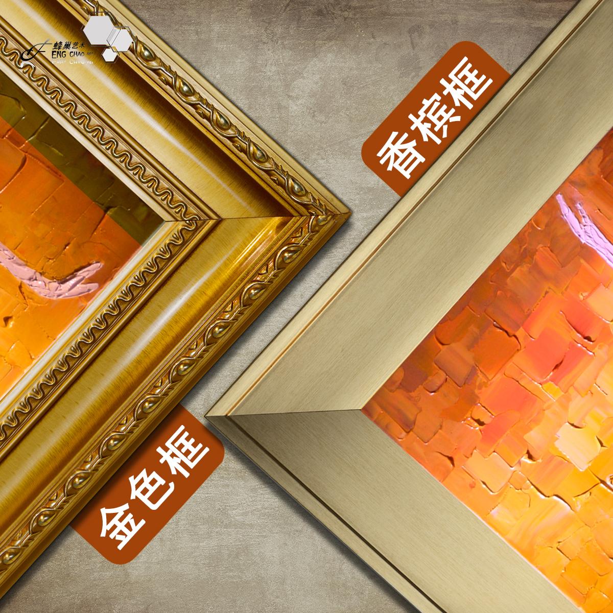 油画 客厅玄关装饰画欧式过道壁画餐厅挂画 手绘抽象竖版芭蕾舞