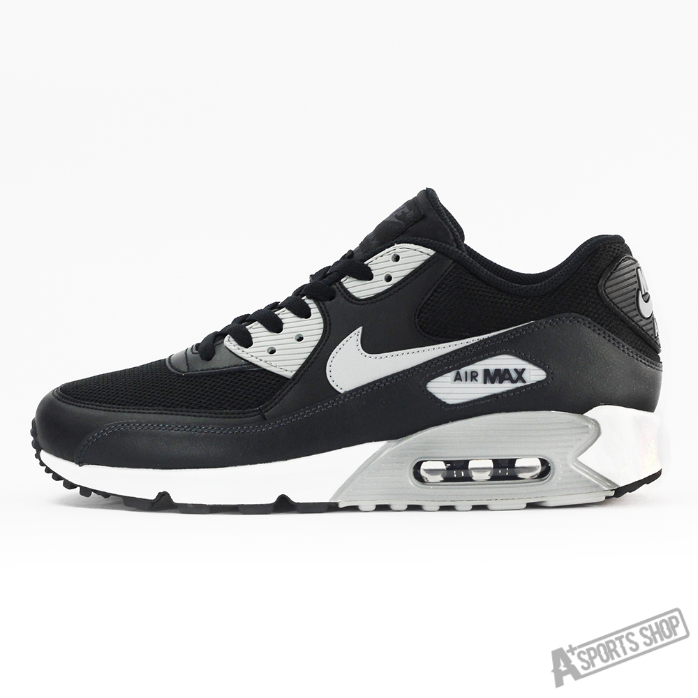 Nike men's nike air max 90 essential black casual shoes taiwan's official website direct mail import