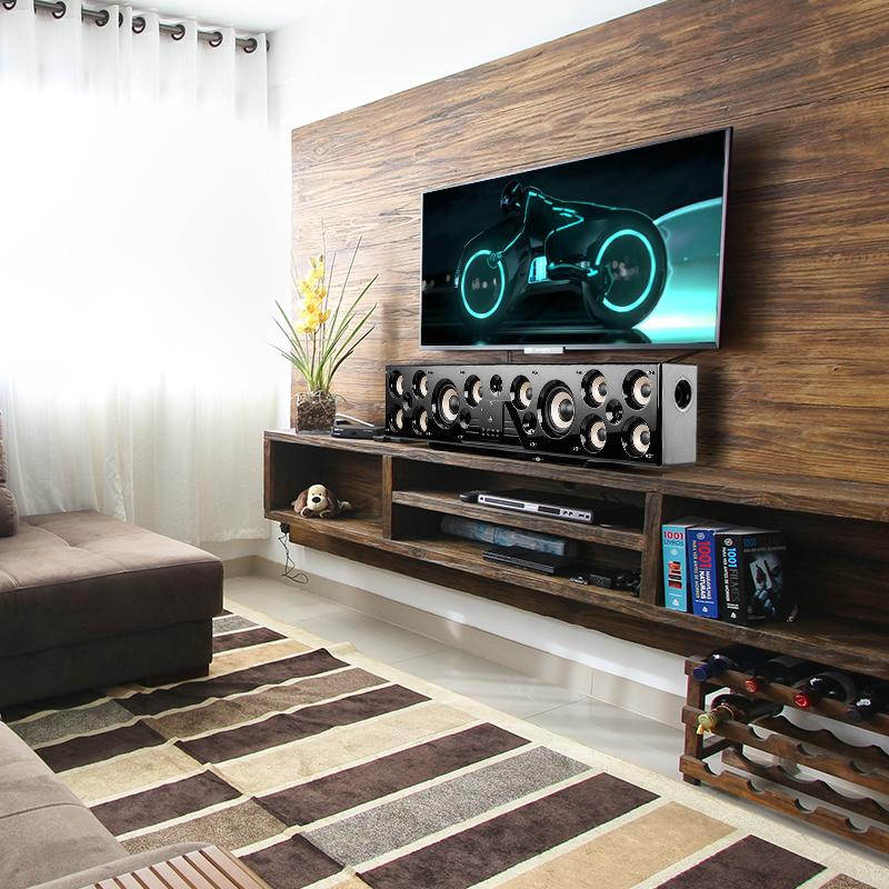 歌音箱 k 环绕木质电视 3D 家用无线 KTV 家庭影院客厅 5.1 回音壁音响 HY