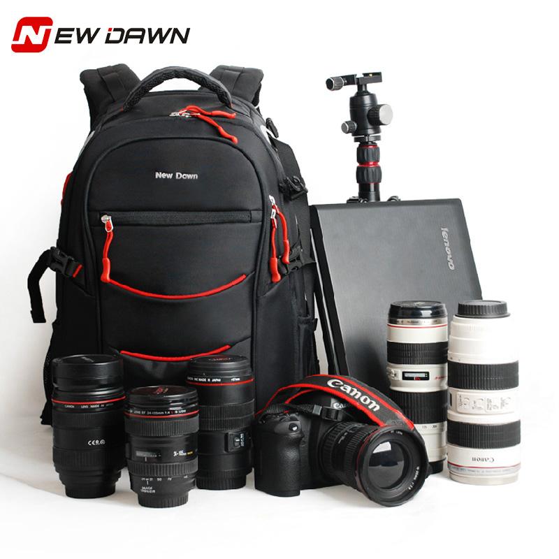 佳能尼康專業戶外單反相機包 攝影包雙肩 大容量揹包15.6寸電腦包