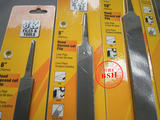 Imported genuine JK flat file flat file fitter file flat file 6 inch 8 inch 10 inch 12 inch thick medium fine tooth