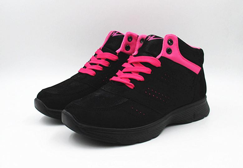 加绒雪地棉鞋男女同款运动棉鞋 双星正品秋冬新款加绒保暖鞋