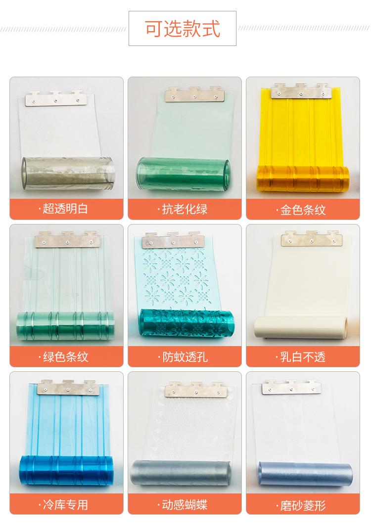 空调门帘隔断帘防冷气塑料门帘PVC软门帘夏季挡风冷库隔热塑料帘