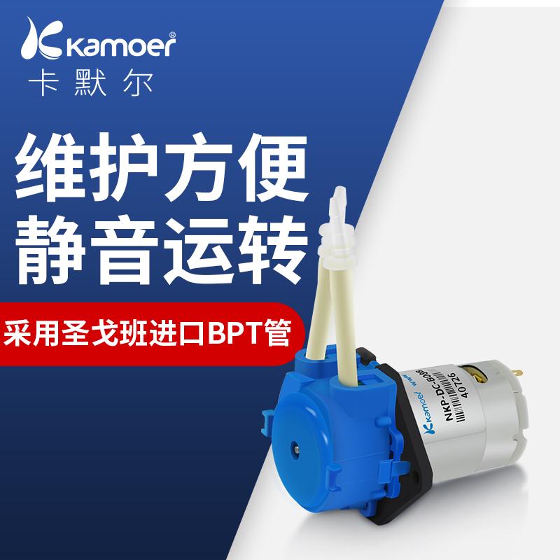 蠕动泵12v微型水泵静音自吸泵迷你循环小泵24v小型自动直流抽水泵