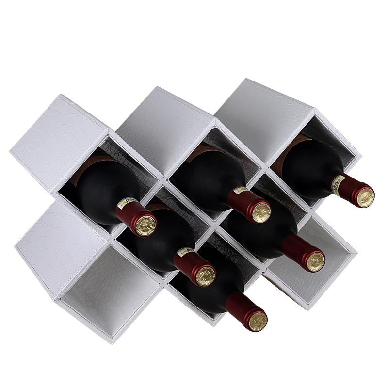 欧式红酒架摆件 实木家用创意现代简约客厅葡萄酒柜架子置物架