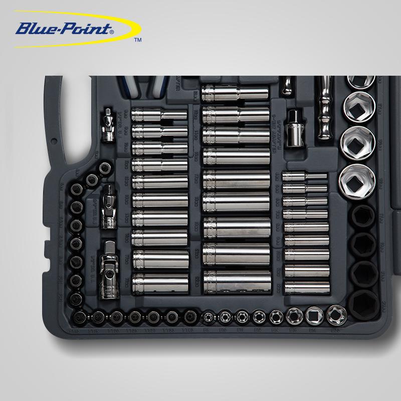 美国蓝点工具150件汽保机修工具套装组合棘轮扳手螺丝刀汽车维修