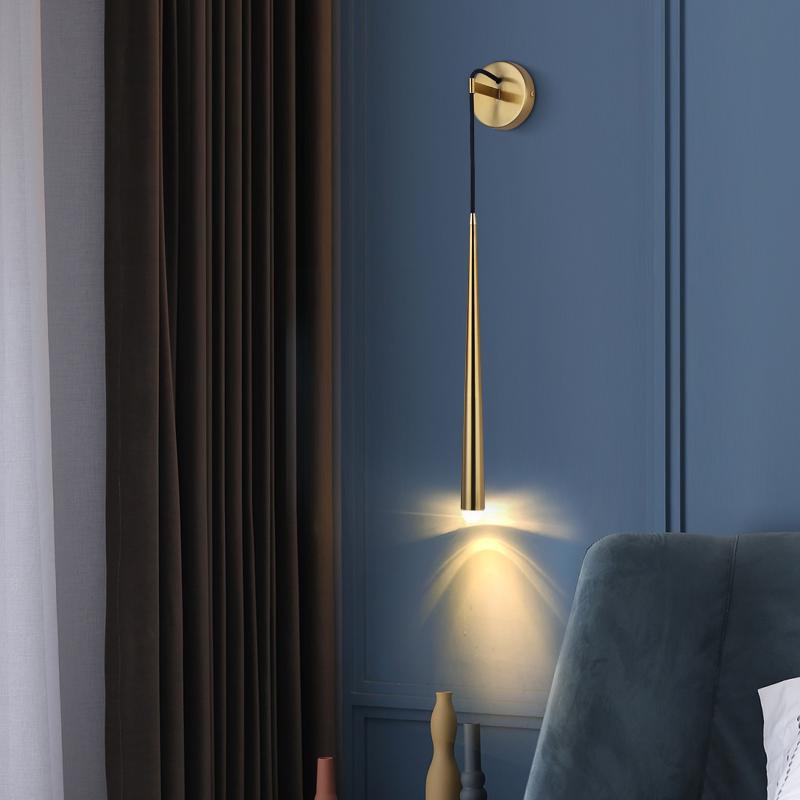 极简装饰北欧水晶壁灯