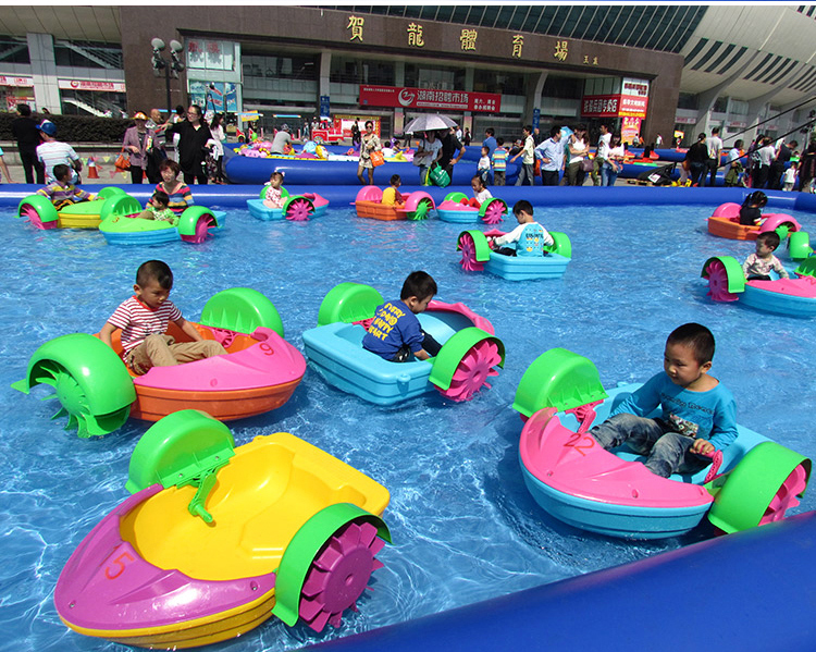 水上滚筒TPU步行球加厚长款儿童水池游乐设备水上乐园玩具滚筒球