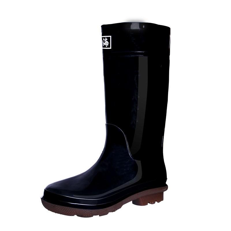 春秋回力雨鞋男中筒高筒雨靴女防水鞋防滑耐磨劳保胶鞋塑胶套鞋