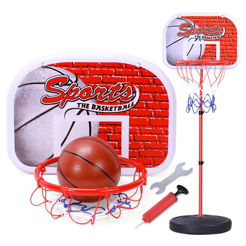 儿童篮球架可升降室内投篮框家用宝宝球类小孩皮球挂式筐玩具男孩